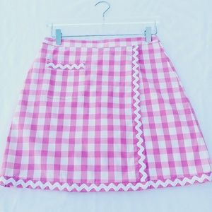 Lilly Pulitzer Gingham Tennis Skirt / Skorts